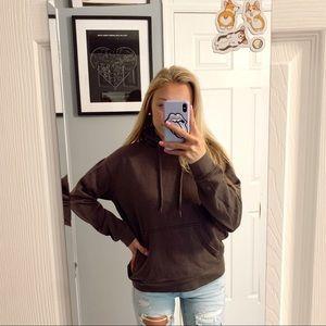 Pretty Little Thing brown hoodie